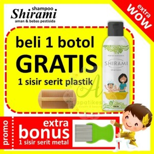 Harga Best Seller Shirami Shampo Anti Kutu Anak Dan Dewasa Katalog.or.id