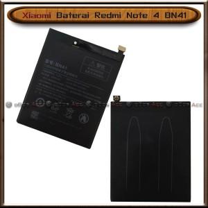 Harga baterai xiaomi redmi note 4 bn41 bn 41 original batre batrai   HARGALOKA.COM