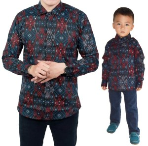 Harga couple batik ayah dan anak   | HARGALOKA.COM