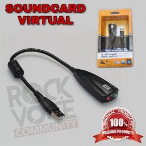 Harga usb soundcard virtual 7 1 channel 5hv2 microphone amp audio     HARGALOKA.COM