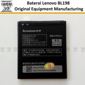 Harga baterai lenovo bl198 a850 original oem bl 198 batre batrai a | HARGALOKA.COM
