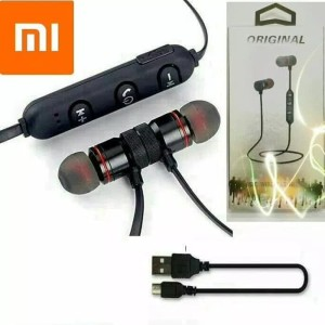 Harga headset headsfre earphone bluetooth sportbm1 xiaomi metal solid | HARGALOKA.COM