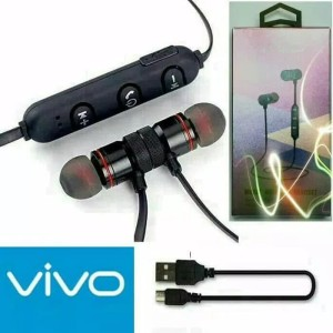 Harga headset headsfre earphone bluetooth sport bm1 vivo metal solid | HARGALOKA.COM