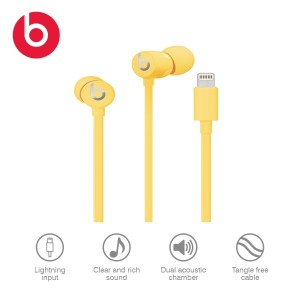Harga urbeats 3 lightning connector beats by dre official   yellow | HARGALOKA.COM