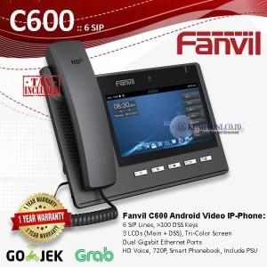 Harga fanvil c600 premium hd ip video android | HARGALOKA.COM