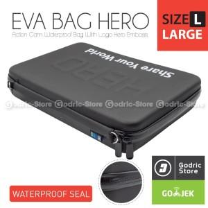 Harga hero eva tas waterproof case large size bag xiaomi yi gopro amp | HARGALOKA.COM