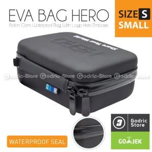 Harga hero eva tas waterproof case small size bag xiaomi yi gopro amp | HARGALOKA.COM