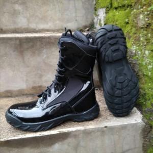 Harga sepatu pdl militer tni polri scurity satpol pp   hitam | HARGALOKA.COM