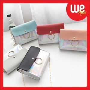Harga we104 new arrival tas selempang hologram korea sling bag   HARGALOKA.COM