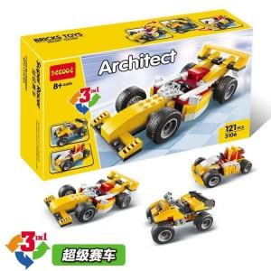 Harga mainan lego bricks building blocks decool 3106 bagus murah bisa 3 in | HARGALOKA.COM