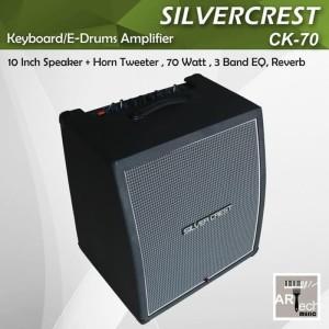 Harga ampli silvercrest ck100 amplifier keyboard ck 100 speaker e | HARGALOKA.COM