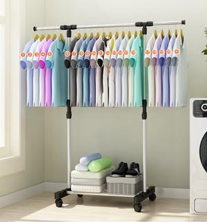 Harga stand hanger single rak baju   portabel gantungan jemuran | HARGALOKA.COM