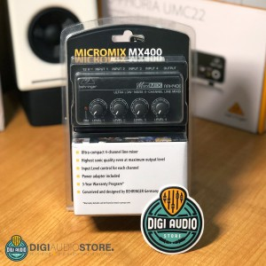 Harga mini audio mixer behringer micromix mx400   4 channel   mixer | HARGALOKA.COM