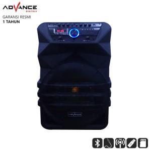 Harga speaker bluetooth advance k1512 speaker pa system | HARGALOKA.COM