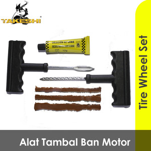 Harga alat tambal ban tubeless lengkap 1 set tubless tubeles less anti | HARGALOKA.COM