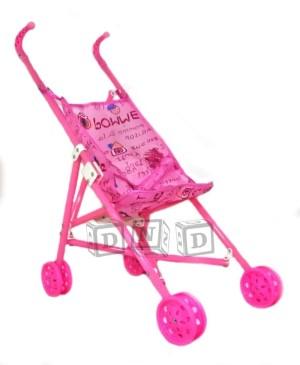 Harga mainan anak   stroller bayi dorongan boneka kereta dorong lipat | HARGALOKA.COM