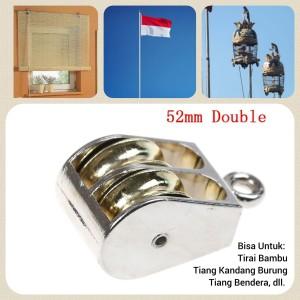 Harga Katrol Double 43x5mm Kerekan Katalog.or.id