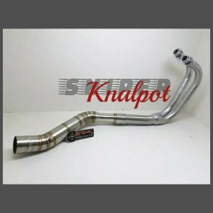 Harga header leher knalpot ninja 250 fi karbu r25 mt25 | HARGALOKA.COM