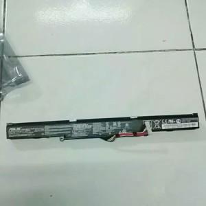Harga baterai original laptop asus rog gl752vw gl752 n552 a41lk9h | HARGALOKA.COM