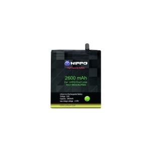 Harga baterai hippo oppo find 5 mini r827 r850 blp563 2600 mah garansi | HARGALOKA.COM