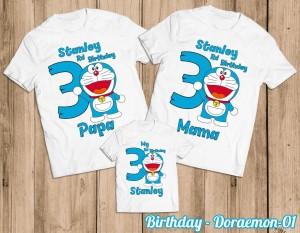 Harga kaos ulang tahun baju couple family | HARGALOKA.COM