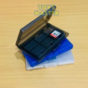 Harga nintendo switch game card case 12 in 1 kotak penyimpanan kartu game   | HARGALOKA.COM