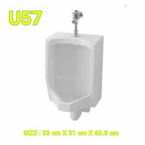 Harga urinoir toto original u57 complete set flush valve | HARGALOKA.COM