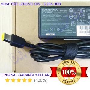 Harga adaptor charger laptop original lenovo ideapad g400s 20v 3 25 65w | HARGALOKA.COM