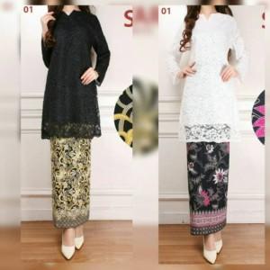 Harga baju kurung brukat baju kurung melayu baju kurung padang baju kurung   putih | HARGALOKA.COM