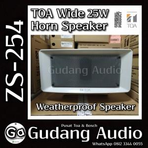 Harga toa wide horn speaker zs 254 25 watt | HARGALOKA.COM