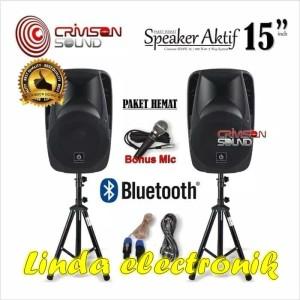 Harga speaker aktif 15 inch crimson | HARGALOKA.COM