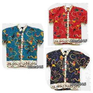 Harga kemeja anak 121 161 146 211 batik hem atasan modern murah keluarga   4 tahun | HARGALOKA.COM