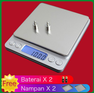 Harga timbangan emas perhiasan digital dengan lcd 500g 0 | HARGALOKA.COM