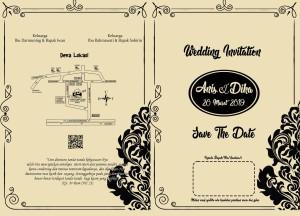 Harga undangan pernikahan kertas coklat | HARGALOKA.COM
