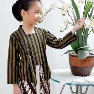 Harga baju adat anak cewek kebaya lurik | HARGALOKA.COM