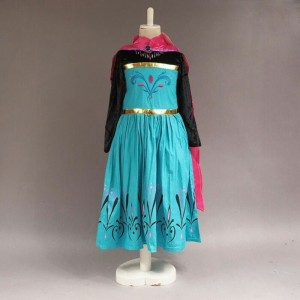 Harga baju dress kostum elsa frozen jubah merah     HARGALOKA.COM