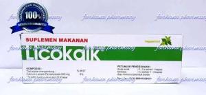 Harga jual murah licokalk suplemen kalsium untuk bumil amp | HARGALOKA.COM