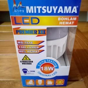 Harga bohlam lampu led 18 watt premier iii mitsuyama ms 7918 bagus   HARGALOKA.COM