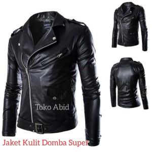 Harga jaket kulit domba super asli garut jaket kulit motor terbaru amp trendy   cokelat   HARGALOKA.COM