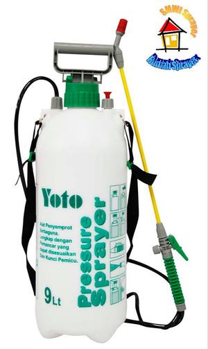 Harga Pressure Sprayer Yoto 9 Liter Penyemprot Tanaman Bertekanan Katalog.or.id