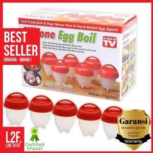 Harga cetakan telur rebus unik silicone egg boil alat masak telur | HARGALOKA.COM
