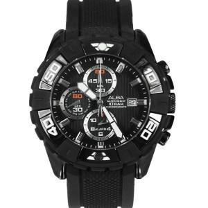 Harga jam tangan alba chronograph af3e47 strap rubber | HARGALOKA.COM