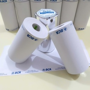 Harga kertas thermal edc logo bank bca uk57 | HARGALOKA.COM