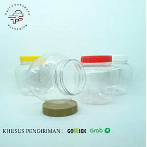 Harga toples gentong 450 ml khusus pengiriman gosend   | HARGALOKA.COM