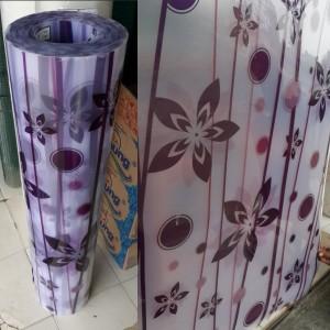 Harga fiber viber penutup pagar plastik motif floral bunga uvprotection   HARGALOKA.COM