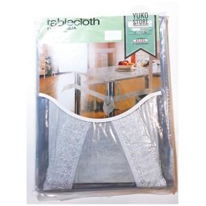 Info Taplak Meja Makan Plastik Motif Kotak Kursi 6 Meiwa Katalog.or.id
