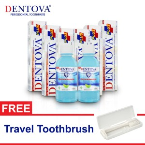 Harga dentova plus toothpaste x dentova pro mouthwash savings | HARGALOKA.COM