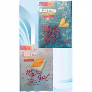 Harga paket 2 novel pit sansi my ice boy my ice | HARGALOKA.COM
