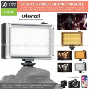 Harga ulanzi 96 led video light 96led lampu studio foto dslr smartphone | HARGALOKA.COM