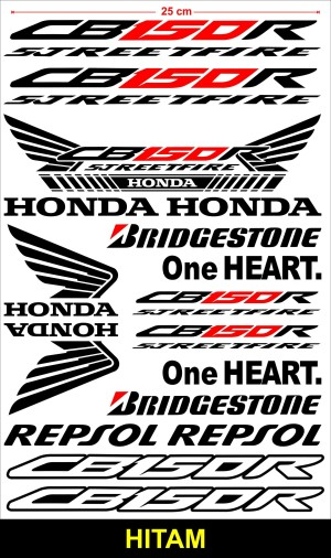 Harga stiker motor cutting sticker skotlite body motor honda cb150r   HARGALOKA.COM